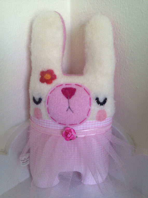 Honey Bunny Ballerina Stuffed Friend - WATERBURY