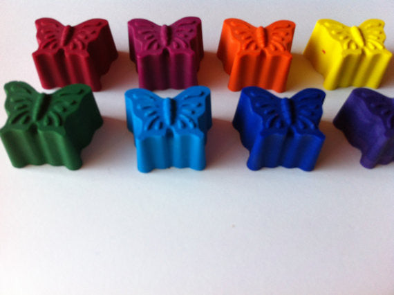 Eco-Friendly Butterfly Crayons