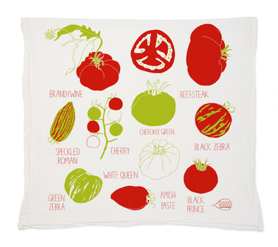 Tomato Tea Towel