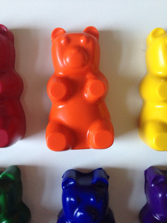 Eco Friendly Gummy Bear Crayons
