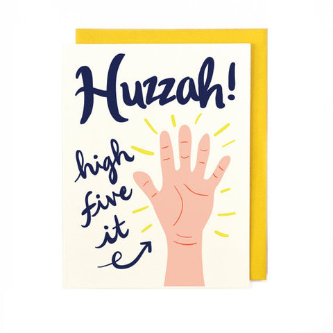 Huzzah Greeting Card