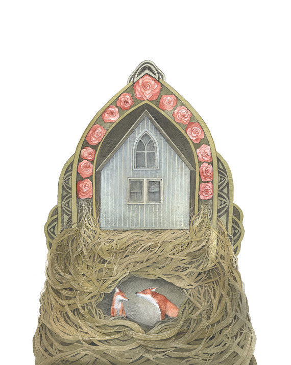 Sweet Home II - Art Print