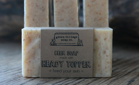 Beer Soap Made With Heady Topper and Hops