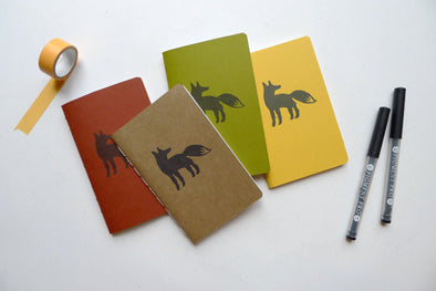 Fox Jotter Notebook // by Middle Dune