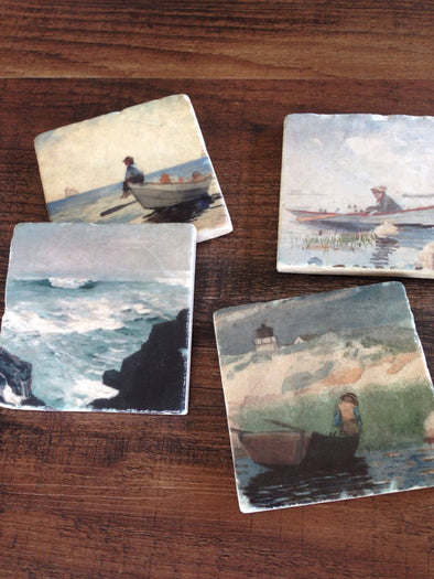 On The Water Coasters // Set of 4