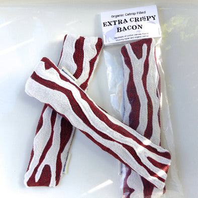 Bacon Catnip Toy