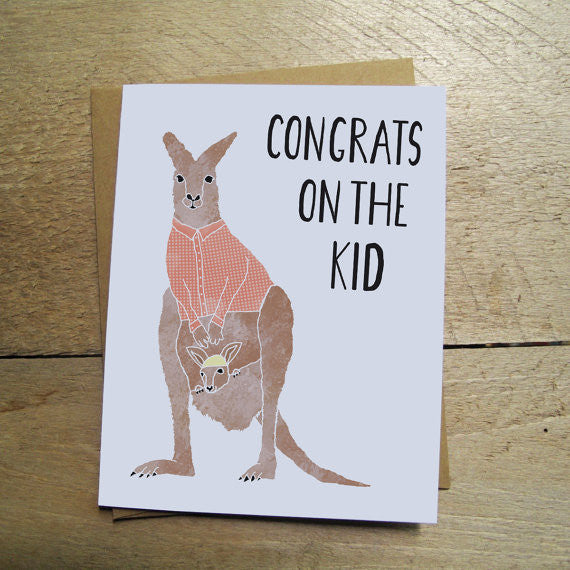 Congrats On The Kid Card