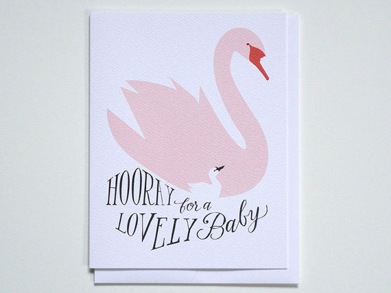 Hooray for a Lovely Baby Card