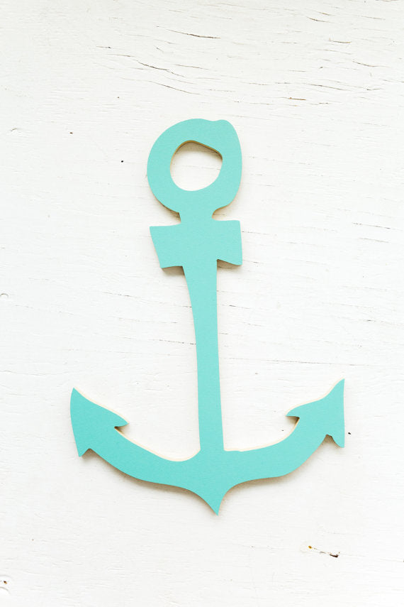 Anchor Wooden Cut Out