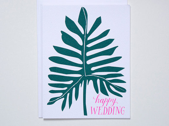 Happy Wedding Greeting Card