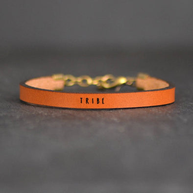 Tribe Bracelet - metallic rose gold