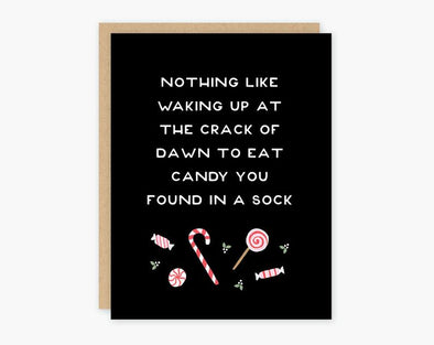 Crack of Dawn Holiday Card