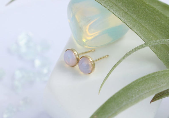 Opalite Stone Earrings