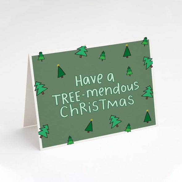 Have a TREE-Mendous Christmas Card