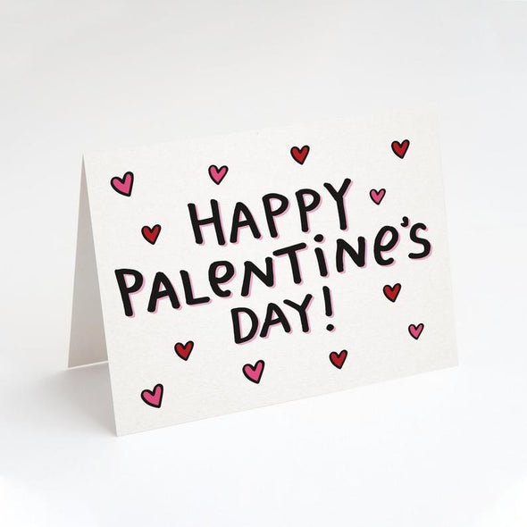 Happy Palentine's Day Greeting Card
