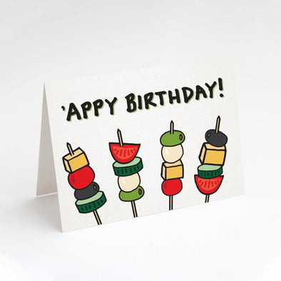 'Appy Birthday Greeting Card