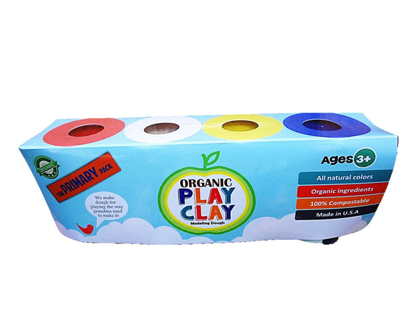 Organic Play Clay Primary Pack