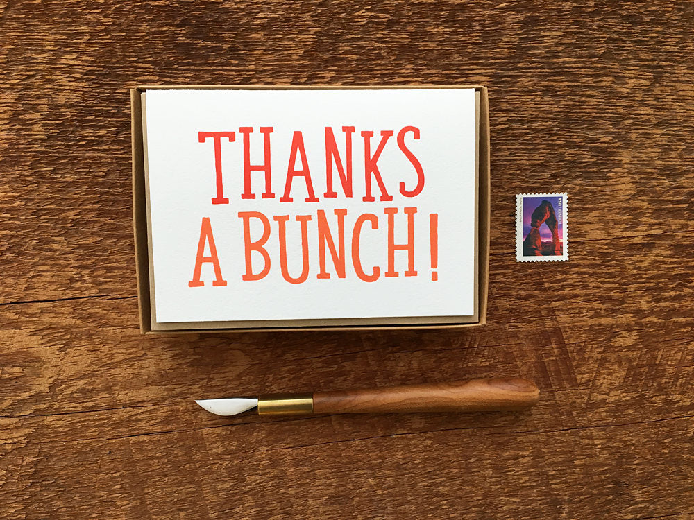 Thank You Greeting Card Box Set - WATERBURY