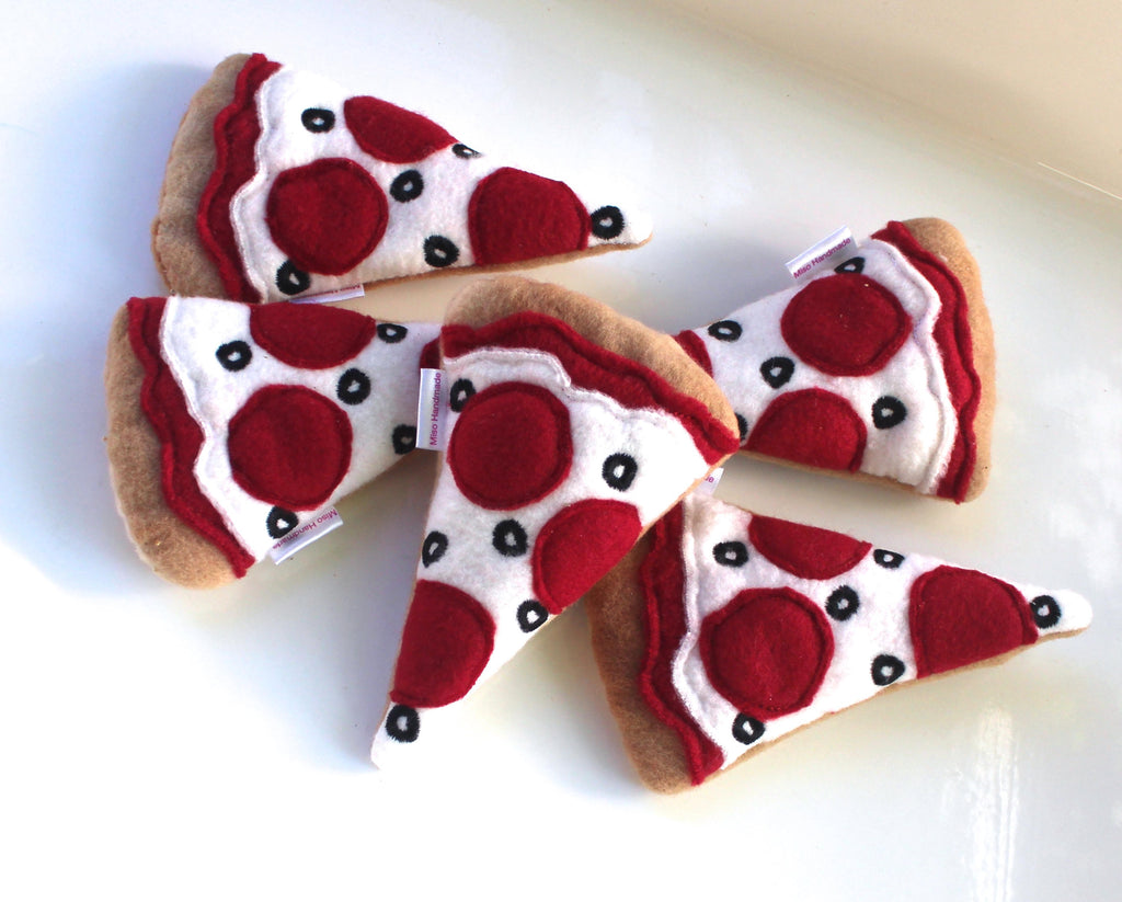 Pizza Cat Catnip Toy WATERBURY