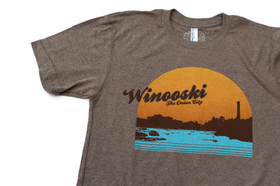 Winooski Unisex T-Shirt - Brown