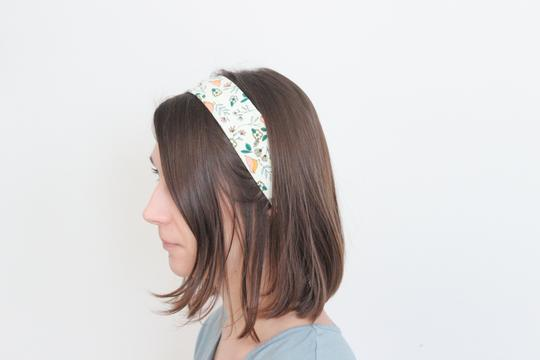 Organic Cotton Headband - Sherbert Shapes