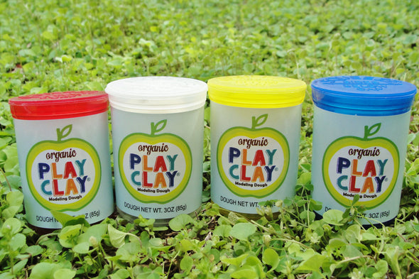 Organic Play Clay Primary Pack - WATERBURY