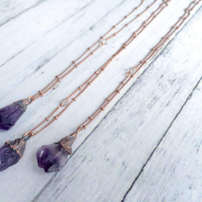 "18"" Amethyst Necklace*"