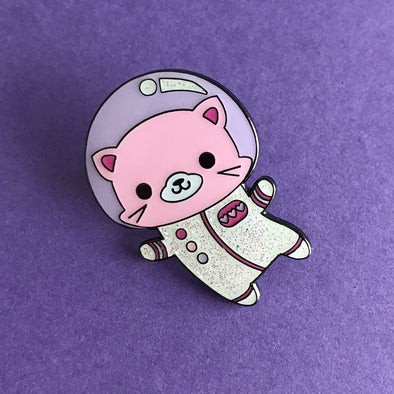 Space Kitty Pin