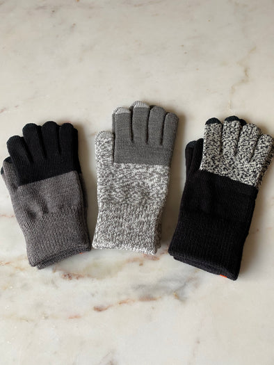 Classic Colorblock Touchscreen Gloves