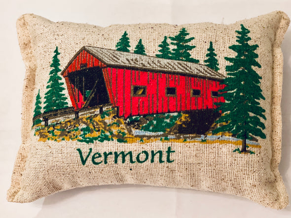 Covered Bridge Balsam Fir Pillow