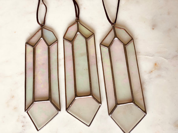 Crystal Stained Glass Sun Catcher