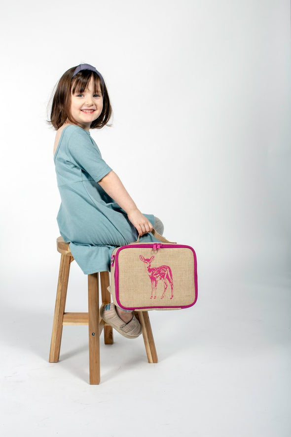 Pink Fawn Lunch Box