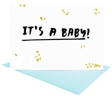 It's a Baby Greeting Card