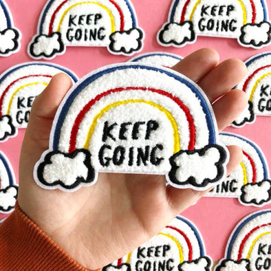 Keep Going Rainbow Patch