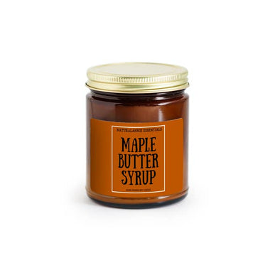 Maple Butter Syrup Soy Candle