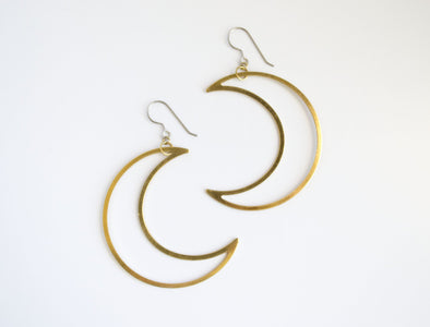 Moon Dangle Earrings