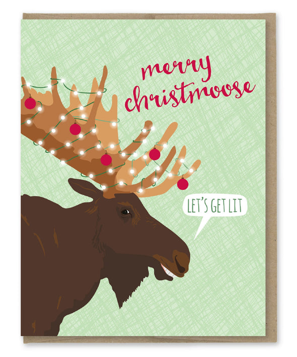 Merry Christmoose Card Boxed Set