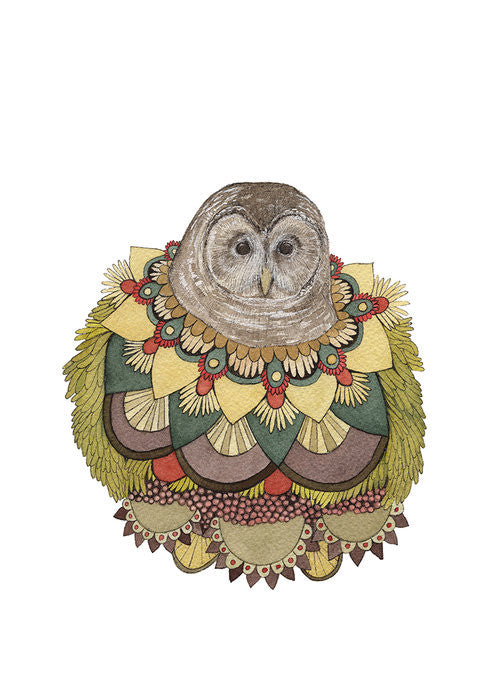 Collector: The Owl - Greeting Card