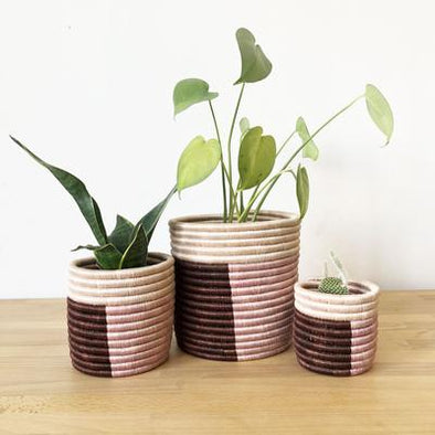 Gaseke Basket Planter