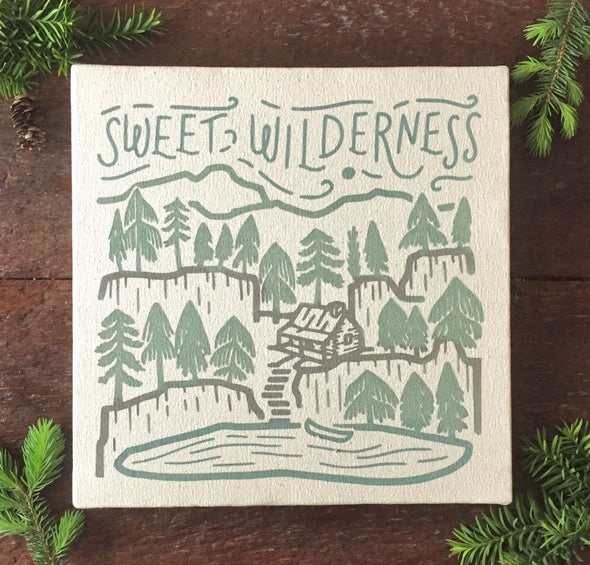 Sweet Wilderness Canvas Print