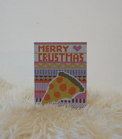 Merry Crustmas - Greeting Card