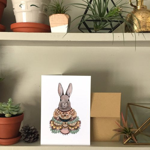 Greeting Card: Collector: The Rabbit