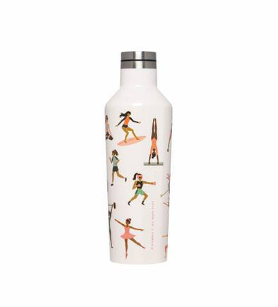 16 oz Canteen - Rifle Paper Co. Sports Girls