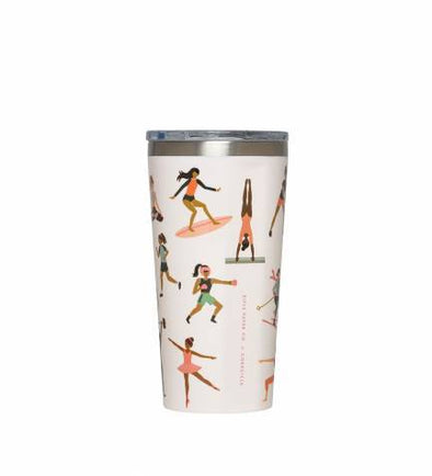 16 oz  Tumbler - Sports Girls
