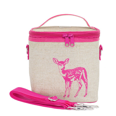 Pink Fawn Small Cooler Bag