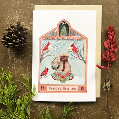 Greeting Card: Seasons Greetings
