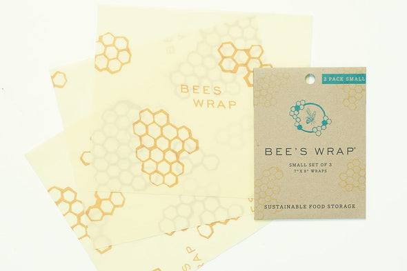 Set of 3 small Bee's Wrap