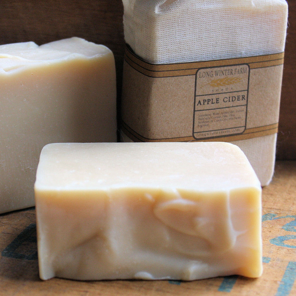 Apple Cider Cold Process Soap