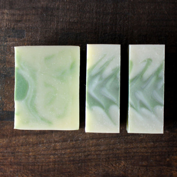 Grass Stain Cold Process Soap