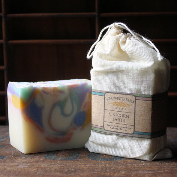 Unicorn Farts Cold Process Soap